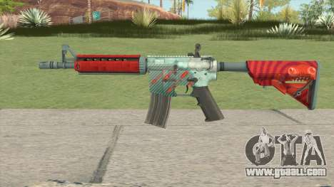 CS-GO M4A4 Bullet Rain for GTA San Andreas