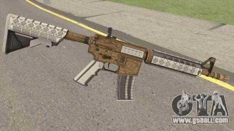 CS-GO M4A4 Royal Paladin for GTA San Andreas