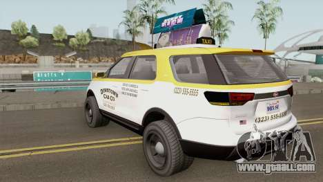 Vapid Scout Taxi GTA V IVF for GTA San Andreas
