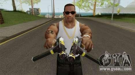 Tec-9 Enforcer V3 for GTA San Andreas
