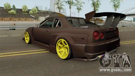 Nissan R34 Uras GT for GTA San Andreas