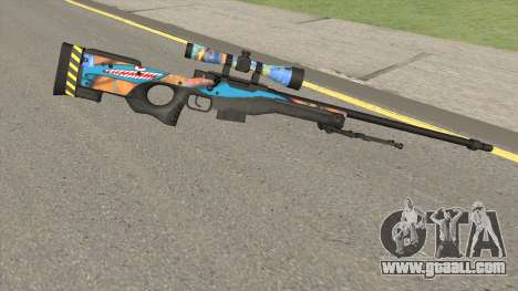 Sniper Rifle (Monster Skin) for GTA San Andreas