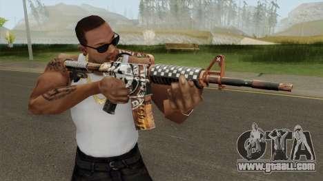 CS:GO M4A1 (Demolition V2 Skin) for GTA San Andreas