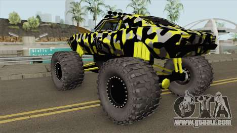 Pontiac Firebird Monster Truck Camo 1968 for GTA San Andreas