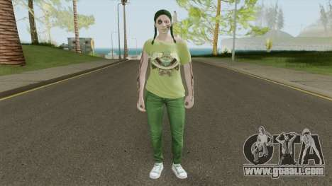 Chica Grove for GTA San Andreas