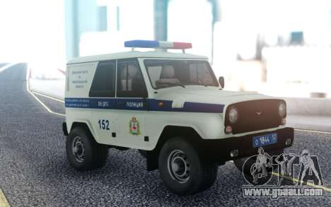 UAZ Hunter DPS for GTA San Andreas