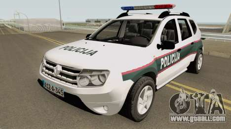 Renault Duster Policija Bih for GTA San Andreas