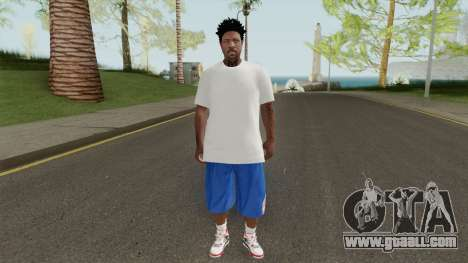 Skin Random 145 New York Knicks for GTA San Andreas