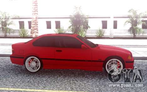 BMW M3 E36 Stock for GTA San Andreas