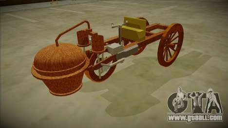 Cugnot Steam Car 1771 for GTA San Andreas