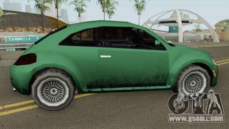 Volkswagen New Beetle 2012 (SA Style) for GTA San Andreas
