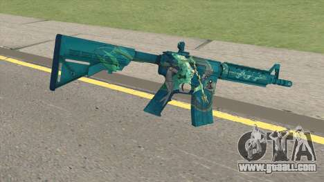 CS-GO M4A4 Poseidon for GTA San Andreas