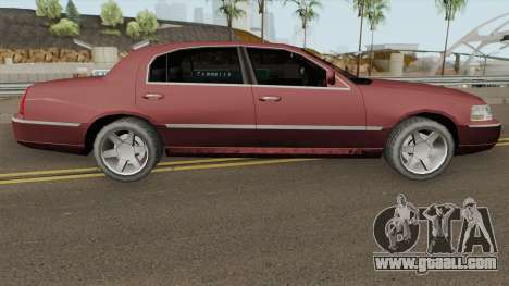 Lincoln Town Car (SA Style) 2011 for GTA San Andreas