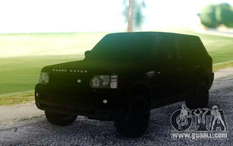 Land Rover Range Rover Sport for GTA San Andreas