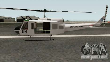 Bell UH-1 Huey United Nations for GTA San Andreas