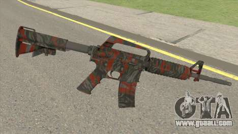 CS:GO M4A1 (Redtiger Skin) for GTA San Andreas