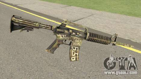 CS:GO M4A1 (Flashback Skin) for GTA San Andreas