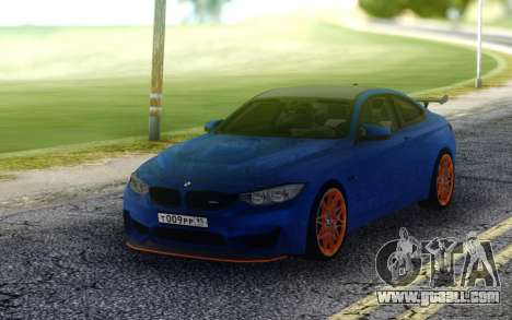 BMW M4 GTS for GTA San Andreas