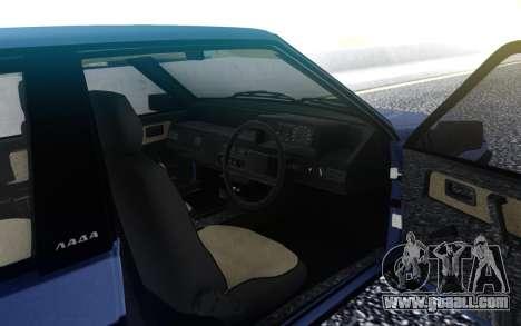 VAZ 2108 Export UK for GTA San Andreas