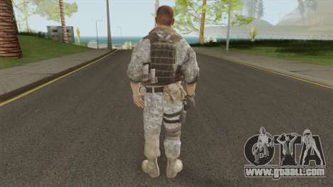 Konrad Enemy From Spec Ops: The Line for GTA San Andreas