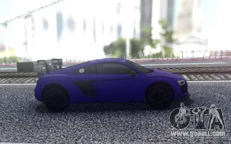 Audi R8 2015 for GTA San Andreas