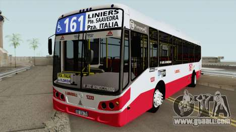Todobus Pompeya II Agrale MT15 Linea 161 Interno for GTA San Andreas