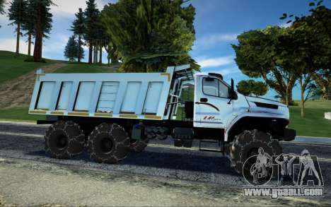 Ural Next Dump Truck LPcars for GTA San Andreas