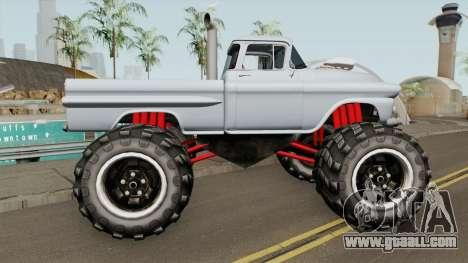 Chevrolet Apache Monster Truck 1958 for GTA San Andreas