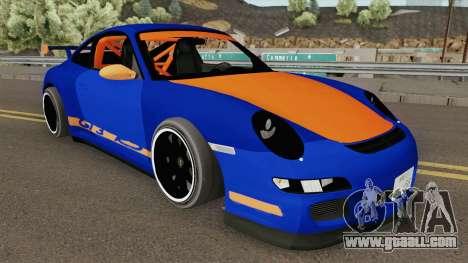 Porsche 911 2007 (Catalina Tuning) for GTA San Andreas