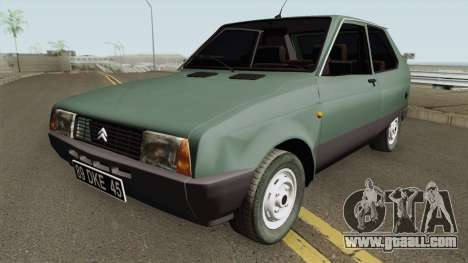 Citroen Axel 1986 for GTA San Andreas