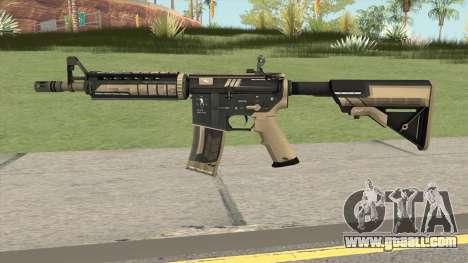 CS-GO M4A4 Desert Strike for GTA San Andreas