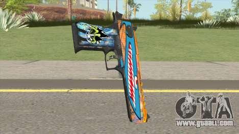 Desert Eagle (Monster Skin) for GTA San Andreas