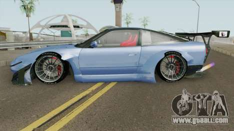 Nissan 180SX Rocket Bunny 1996 for GTA San Andreas