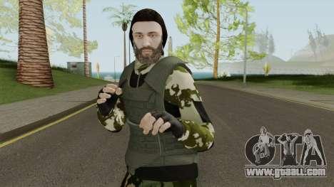 Skin Random 139 (Outfit Military) for GTA San Andreas