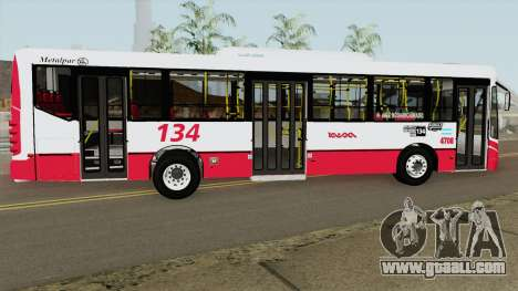 Metalpar Iguazu II Agrale MT15 Linea 134 Interno for GTA San Andreas