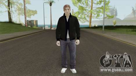 Leon S Kennedy From Resident Evil 2 Remake for GTA San Andreas