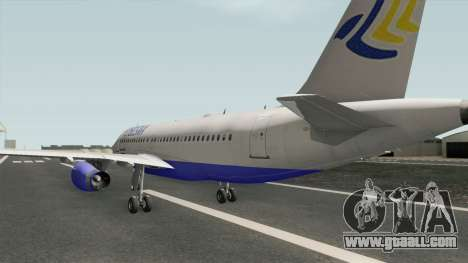 FLYBOSNIA Airbus A319 V2 for GTA San Andreas