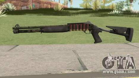 Benelli M4 SEALs Jungle Camo for GTA San Andreas