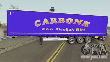Carbone Trailer for GTA San Andreas