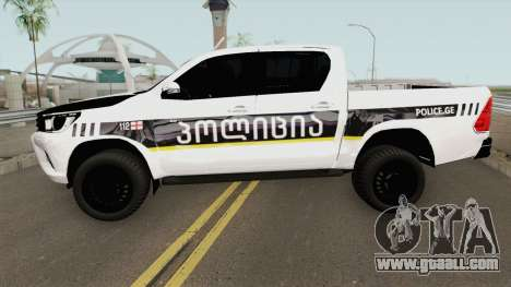 Toyota Hilux Georgia Police for GTA San Andreas
