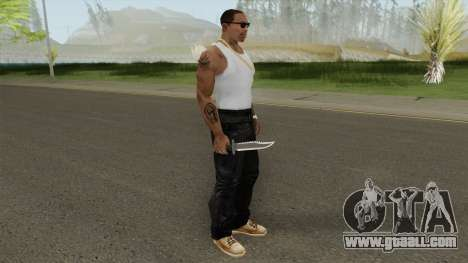 Knife Rambo for GTA San Andreas