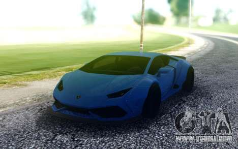 Lamborghini Huraсan for GTA San Andreas