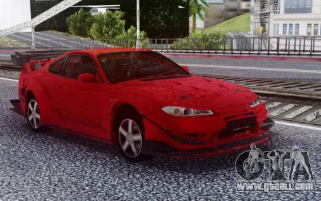 Nissan Silvia S15 RED for GTA San Andreas