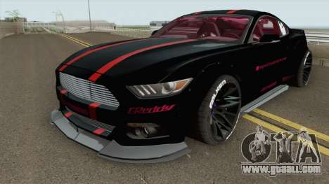 Ford Mustang GT Liberty Walk 2015 for GTA San Andreas