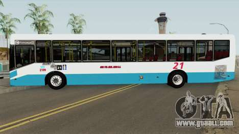Todobus Pompeya II Agrale MT17 Linea 21 Interno for GTA San Andreas