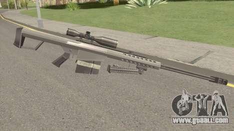 Barrett M82 Anti-Material Sniper V2 for GTA San Andreas