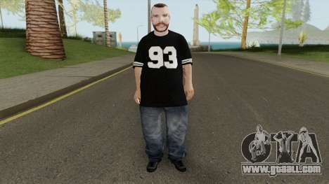 Tataee (Tata Vlad) From BUG Mafia for GTA San Andreas