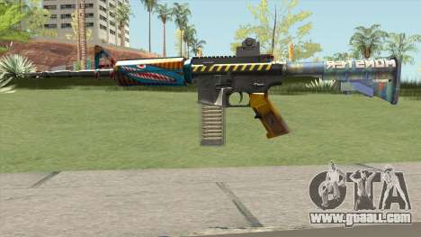 M4 (Monster Skin) for GTA San Andreas