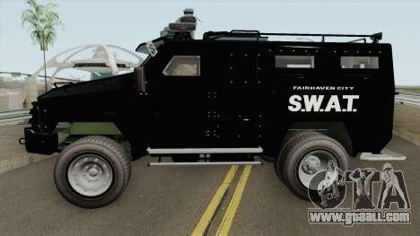 NFS MW 2012 SWAT Van IVF for GTA San Andreas
