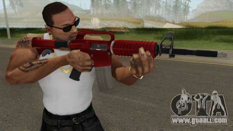 CS:GO M4A1 (Red Skin) for GTA San Andreas